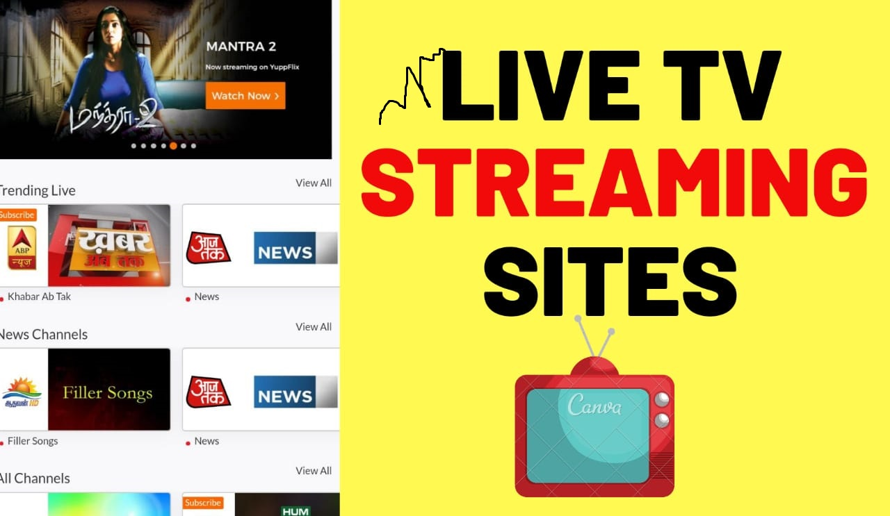 Best Sites to Stream and Watch Live TV