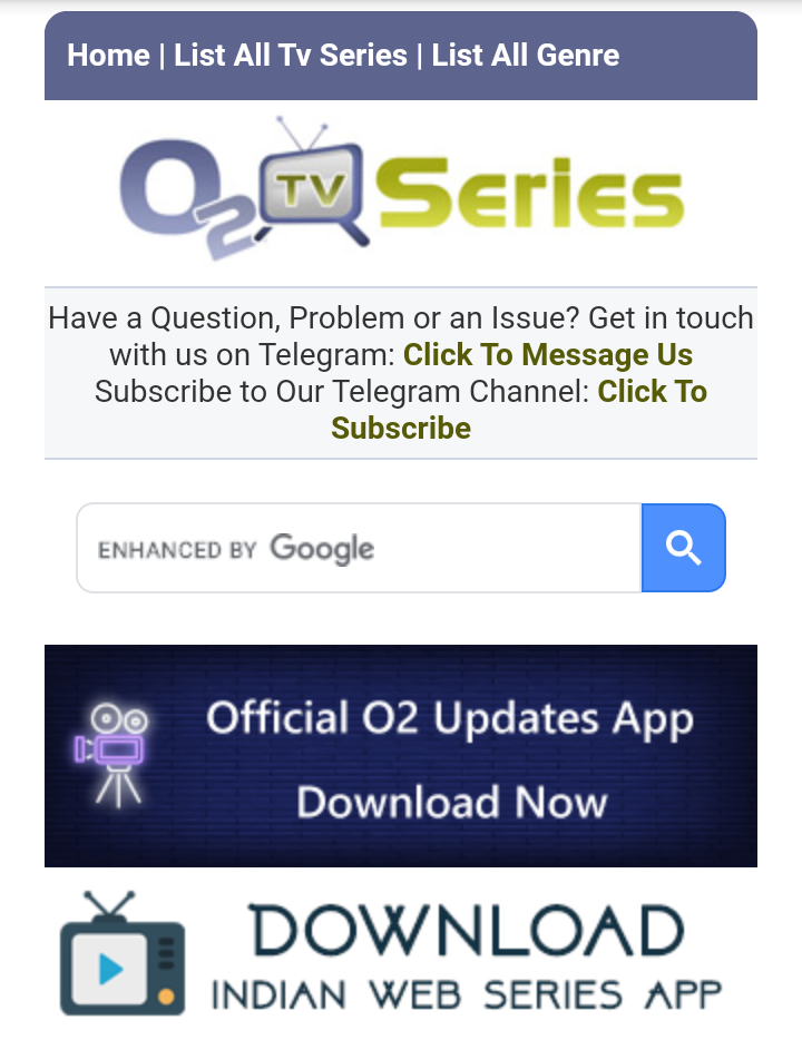 O2TvSeries  tv shows and movies