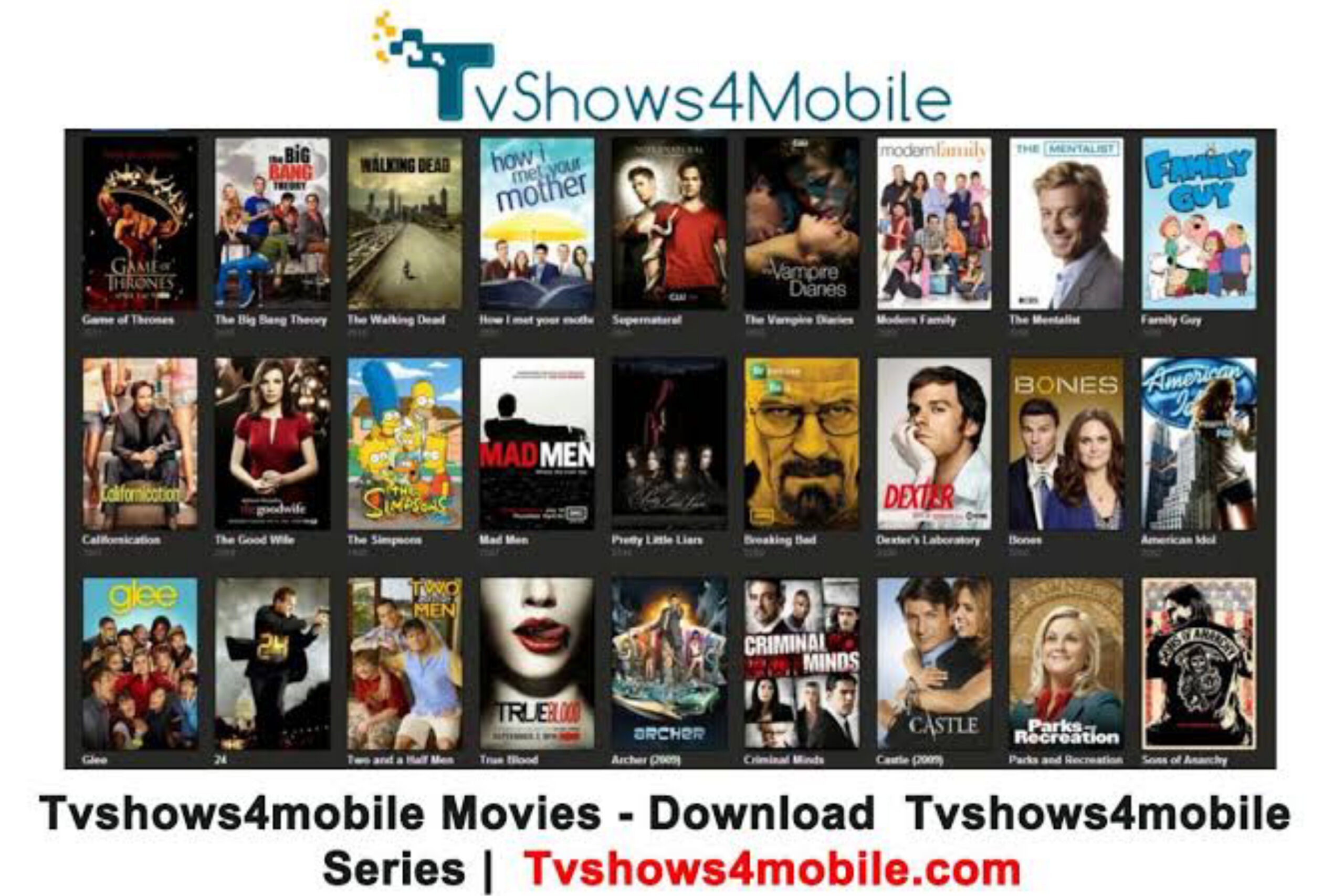 Download Latest Movies and TV Series on Tvshows4mobile