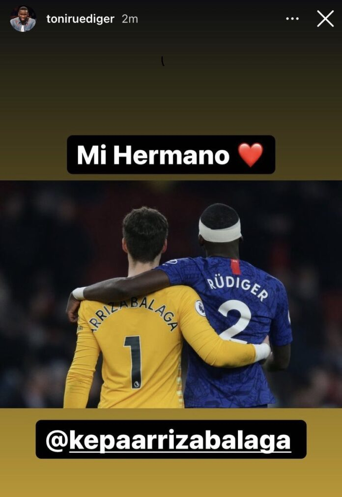 kepa and rudiger