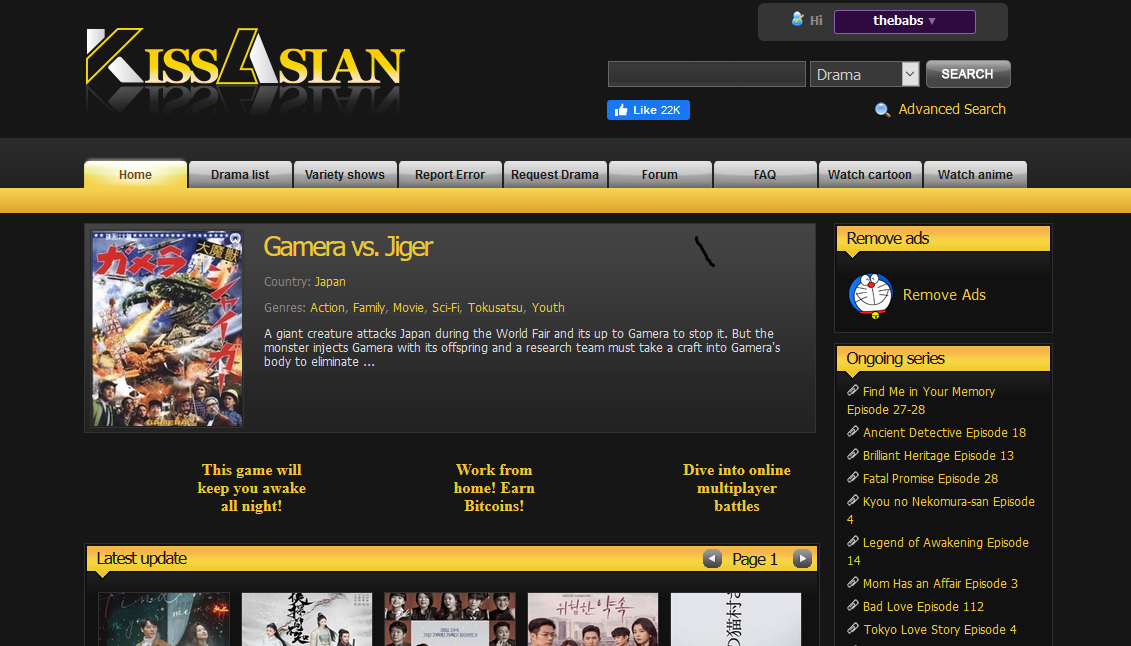Watch Asian drama and shows free in HD