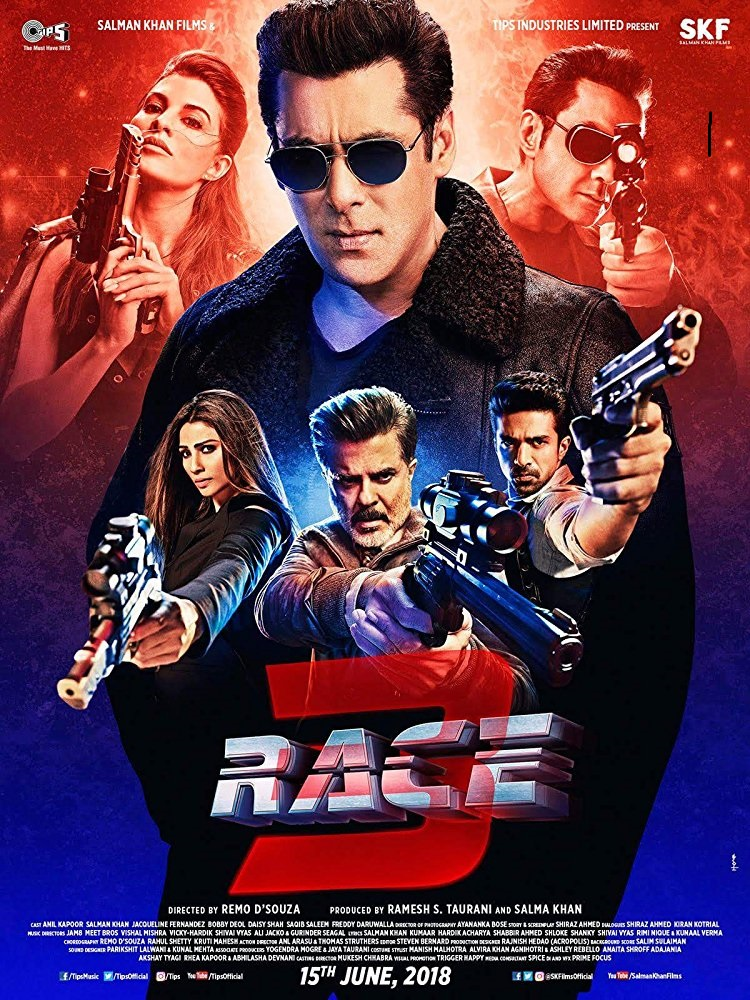 Race 3 (2018) Indian movie